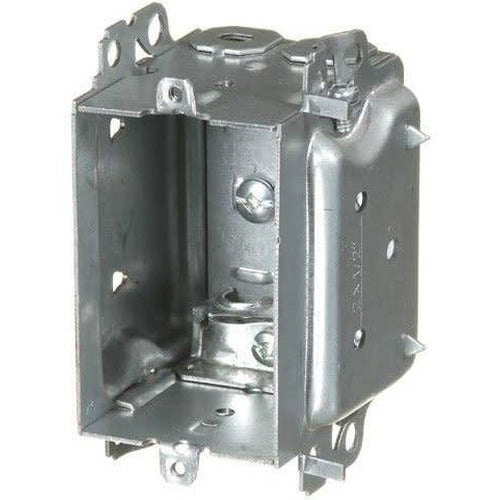 1304-LHA - 2 1/2'' DEEP BUBBLE BOX W/ARMOURED CLAMPS-VISTA-VISTA-Default-Covalin Electrical Supply