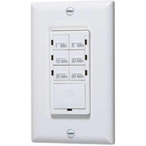 PRESET TIME SWITCH - 1 1/4H.P, 15A, 120V, 800W, 6 ON/OFF - WHITE-VISTA-VISTA-Default-Covalin Electrical Supply