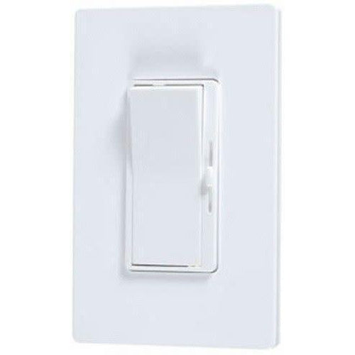 INCANDESCENT PRESET SLIDE DIMMER W/WALL PLATE - S.P. & 3 WAY WHITE - 700W-VISTA-VISTA-Default-Covalin Electrical Supply