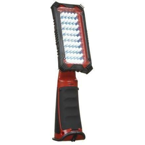 CORDLESS 45 LED SWIVEL LIGHT - RED & BLACK-VISTA-VISTA-Default-Covalin Electrical Supply
