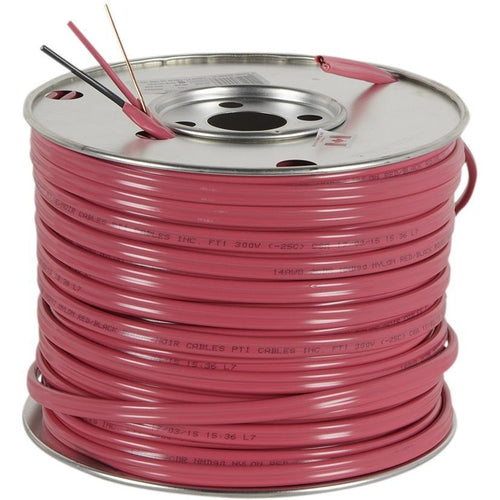 *PER METER CUT* NMD90 RED 14/2CU -150M RED PVC JACKET CABLE 300V 90 DEG-SOUTHWIRE-VAUGHAN-Default-Covalin Electrical Supply