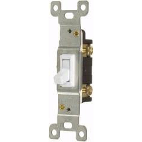 15A TOGGLE SWITCH - S.P. - WHITE-VISTA-VISTA-Default-Covalin Electrical Supply
