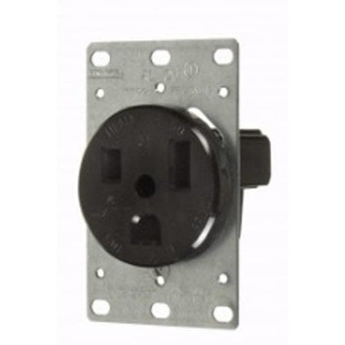 50A - 250V HEAVY DUTY FLUSH MOUNT OUTLET-VISTA-VISTA-Default-Covalin Electrical Supply