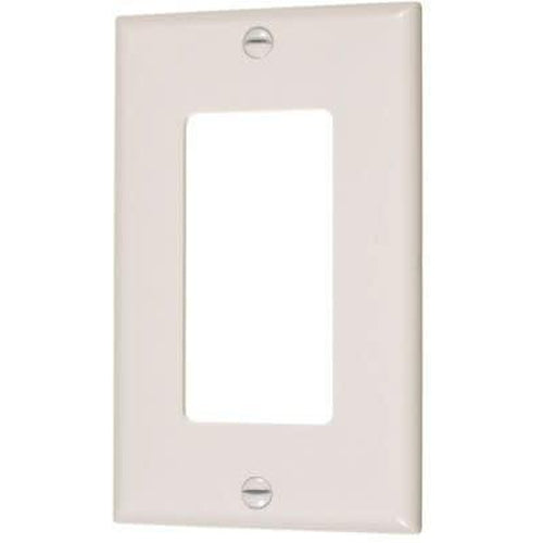 MID SIZE SINGLE DECORATIVE PLATE - IVORY-VISTA-VISTA-Default-Covalin Electrical Supply