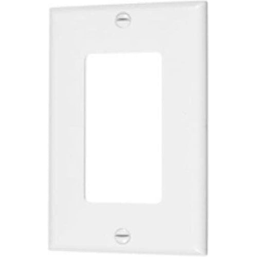 VISTA SINGLE GANG DECORATIVE PLATE - WHITE-VISTA-VISTA-Default-Covalin Electrical Supply