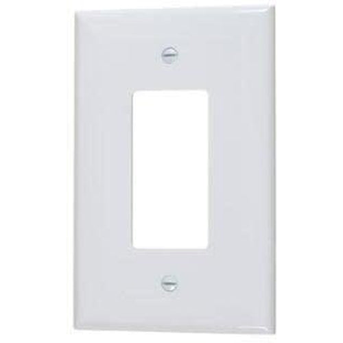 VISTA SINGLE GANG OVERSIZED DECORATIVE PLATE - WHITE-VISTA-VISTA-Default-Covalin Electrical Supply