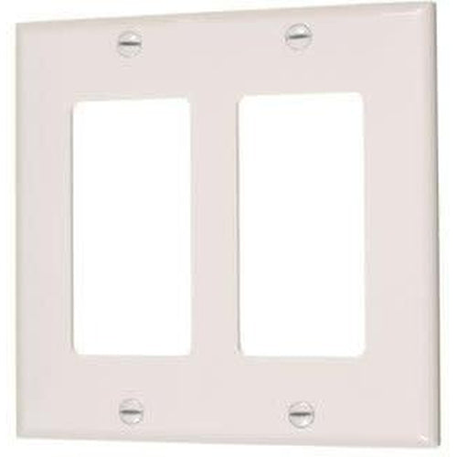 2-GANG DECORATIVE PLATE - IVORY-VISTA-VISTA-Default-Covalin Electrical Supply