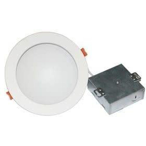 SLIM 4'' INDIRECT LED DOWNLIGHT, DIM TO WARM, 9W 500LMN, WHITE-ORTECH-CROWN DISTRIBUTION-Default-Covalin Electrical Supply