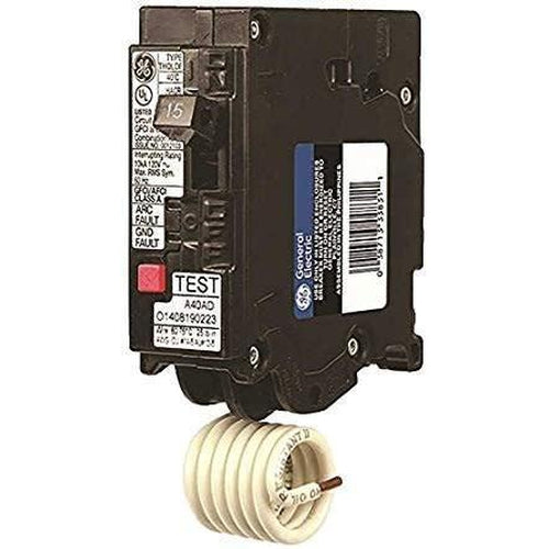 GENERAL ELECTRIC 1 POLE 15A PUSH IN ARC-FAULT BREAKER THQL1115DF-GENERAL ELECTRIC-DEALER SOURCE-Default-Covalin Electrical Supply