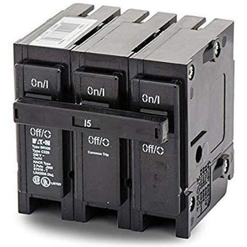 EATON CUTLER HAMMER 3 POLE 15A CIRCUIT BREAKER BR315-EATON-DEALER SOURCE-Default-Covalin Electrical Supply