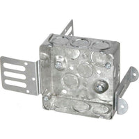 52151-KSSX - 1 1/2'' DEEP SHALLOW JUNCTION BOX - 4'' SQUARE-VISTA-VISTA-Default-Covalin Electrical Supply