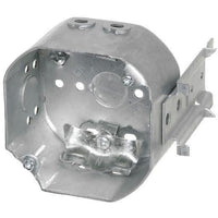 54171-LB - 2 1/8'' DEEPS CEILING BOX W/SIDE MOUNT BRACKET, W/CLAMPS-VISTA-VISTA-Default-Covalin Electrical Supply