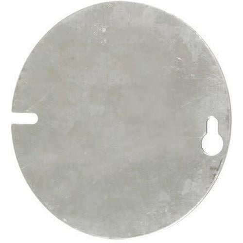 54C1 - 4'' ROUND COVER-BLANK-VISTA-VISTA-Default-Covalin Electrical Supply