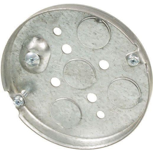 5611 SHALLOW CEILING PAN BOX 1/2'' D X 4''-ORTECH-CROWN DISTRIBUTION-Default-Covalin Electrical Supply