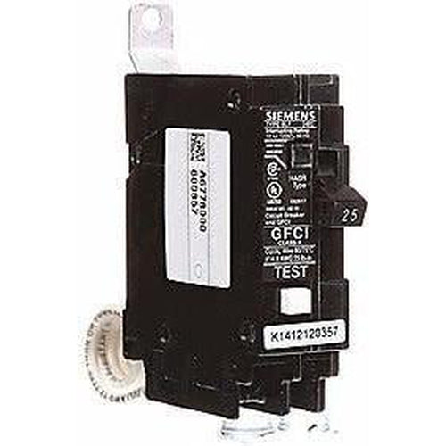 SIEMENS 1 POLE 25A GROUND-FAULT BOLT-ON BREAKER BF125-SIEMENS-DEALER SOURCE-Default-Covalin Electrical Supply