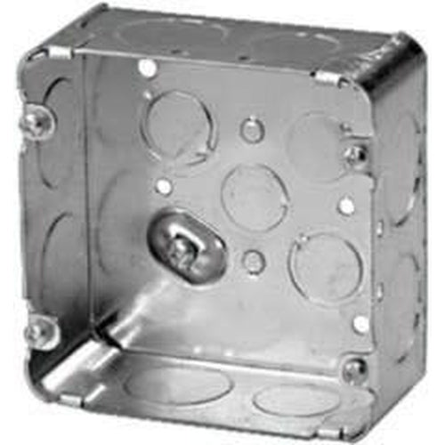 72171-1 - 4 X 4 X 2 1/8'' DEEP SQUARE BOX WITH 1'' KNOCKOUTS-VISTA-VISTA-Default-Covalin Electrical Supply