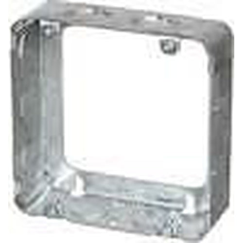 73151-K - 1 1/2'' DEEP SQUARE EXTENSION BOX 4 11/16'' SQUARE W/KNOCKOUTS-VISTA-VISTA-Default-Covalin Electrical Supply