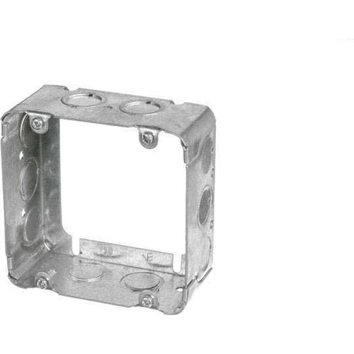 73171-K -2 1/8'' DEEP SQUARE EXTENSION BOX 4 11/16'' SQUARE W/KNOCKOUTS-VISTA-VISTA-Default-Covalin Electrical Supply