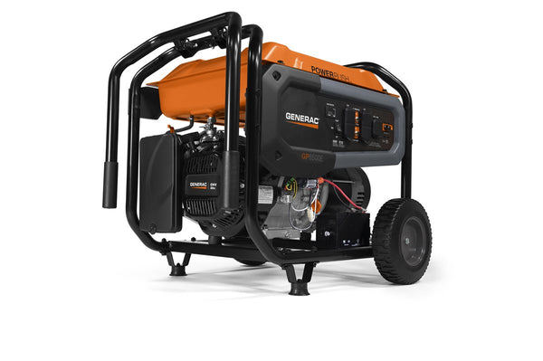 GP6500E 6500 WATT ELECTRIC START GASOLINE POWERED PORTABLE GENERATOR 49/CSA