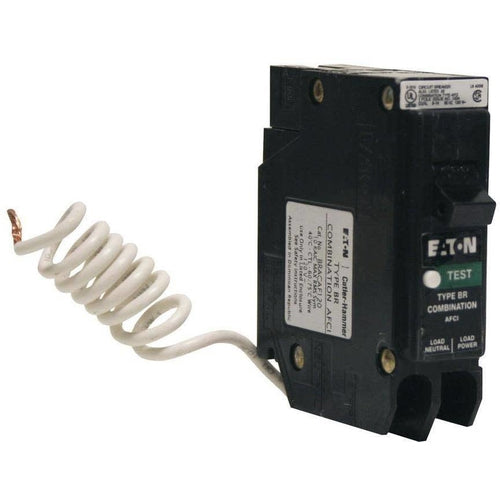 EATON CUTLER HAMMER 1 POLE 20A COMBIMATION AFCI BREAKER BR120AFC-EATON-DEALER SOURCE-Default-Covalin Electrical Supply