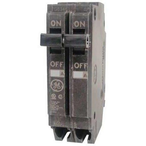 GENERAL ELECTRIC 2 POLE 15A PUSH IN CIRCUIT BREAKER THQP215-GENERAL ELECTRIC-DEALER SOURCE-Default-Covalin Electrical Supply