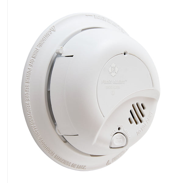 BRK IONIZATION SMOKE DETECTOR 120V WITH 10 YEAR BATTERY BACKUP