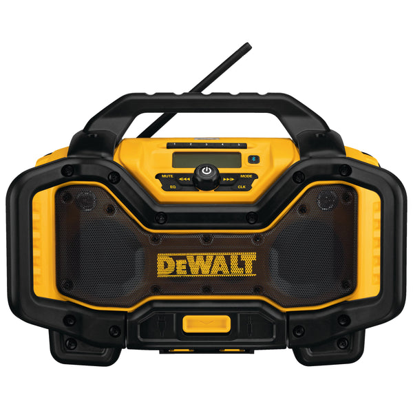 DEWALT 60V/20V MAX BLUETOOTH RADIO CHARGER (CHARGES 20V/60V MAX BATTERIES)