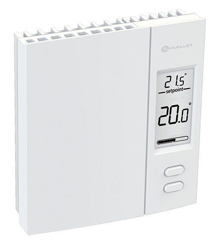 4000W DIGITAL NON-PROGRAMMABLE BASEBOARD WALL THERMOSTAT