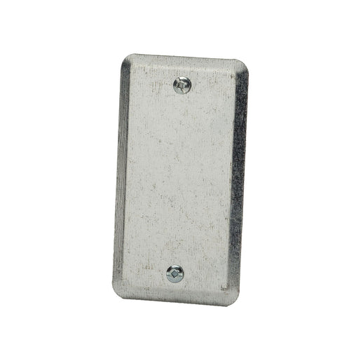 20C4 - 2 1/8 WIDE-BLANK UTILITY BOX COVER