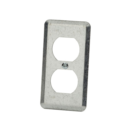 20C1 - 2 1/8 WIDE-DUPLEX RECEPTACLE UTILITY BOX COVER