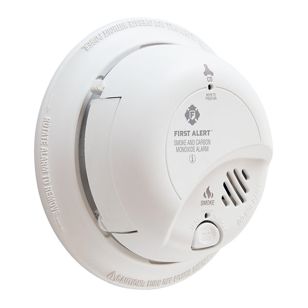 BRK SMOKE CARBON MONOXIDE DETECTOR 120V WIRED WITH BATTERY BACKUP
