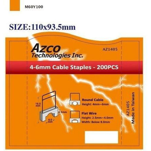 STAPLES FOR AZS667 - SMALL -AZCO-AZCO TECHNOLOGIES-Default-Covalin Electrical Supply