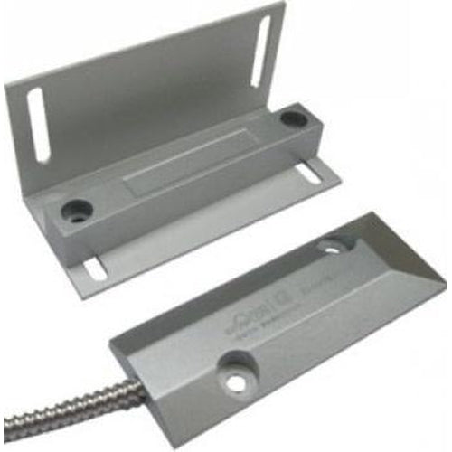 OVERHEAD DOOR CONTACT W/ L-BRACKET, 12'' ARMORED CABLE NC - EACH-AZCO-AZCO TECHNOLOGIES-Default-Covalin Electrical Supply