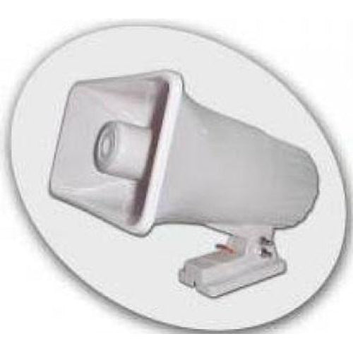 HORN SPEAKER 30W, 12VDC, , 118+-3DB - WHITE-AZCO-AZCO TECHNOLOGIES-Default-Covalin Electrical Supply