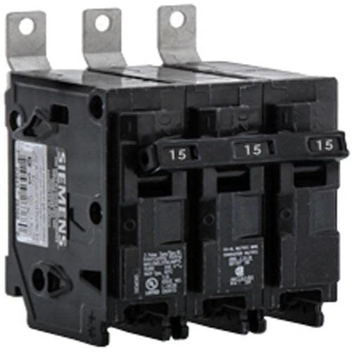 3 POLE - 15 AMP - SIEMENS BOLT-ON BREAKER-SIEMENS-DEALER SOURCE-Default-Covalin Electrical Supply