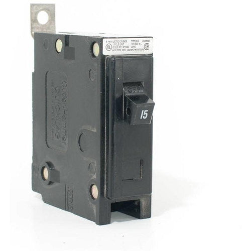 EATON CUTLER HAMMER 1 POLE 15A BOLT-ON BREAKER BAB1015-EATON-DEALER SOURCE-Default-Covalin Electrical Supply