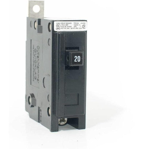 EATON CUTLER HAMMER 1 POLE 20A BOLT-ON BREAKER BAB1020-EATON-DEALER SOURCE-Default-Covalin Electrical Supply
