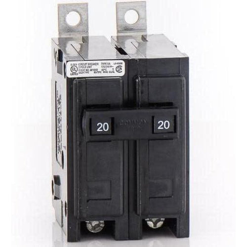 EATON CUTLER HAMMER 2 POLE 20A BOLT-ON BREAKER BAB2020-EATON-DEALER SOURCE-Default-Covalin Electrical Supply