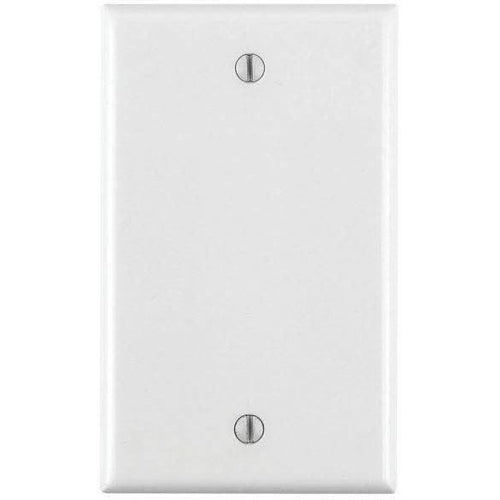 1 GANG BLANK WALL PLATE - WHITE-VISTA-VISTA-Default-Covalin Electrical Supply