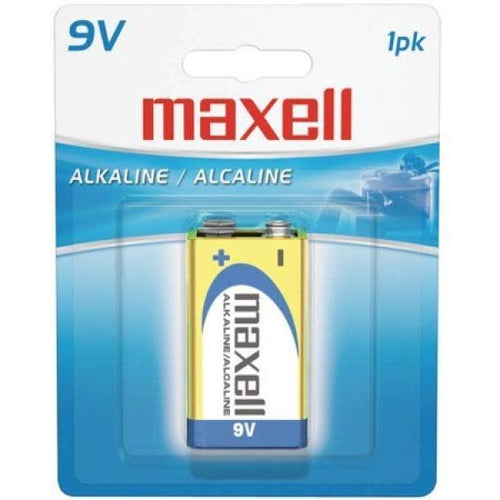 MAXELL 9V BATTERY (BLISTER CARD)-MAXELL-COMPUTER PLUG-Default-Covalin Electrical Supply