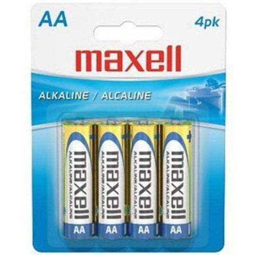 MAXELL AA BATTERY (BLISTER CARD) - 4 PACK-MAXELL-COMPUTER PLUG-Default-Covalin Electrical Supply