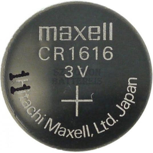 3.0V COIN CELL BATTERY 16MM X 1.6MM-MAXELL-COMPUTER PLUG-Default-Covalin Electrical Supply