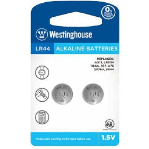 1.5V LR44 BATTERIES - 2 PACK-MAXELL-COMPUTER PLUG-Default-Covalin Electrical Supply