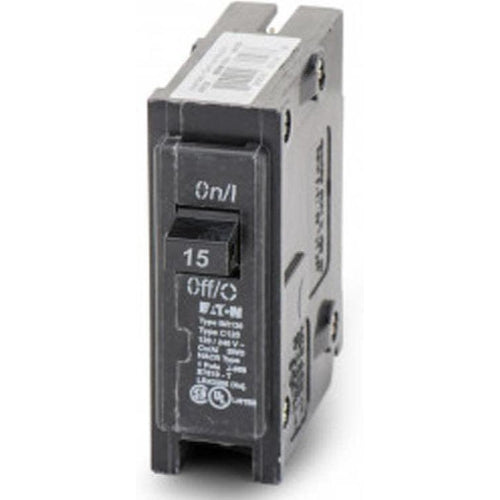 EATON CUTLER HAMMER 1 POLE 15A CIRCUIT BREAKER BR115-EATON-DEALER SOURCE-Default-Covalin Electrical Supply