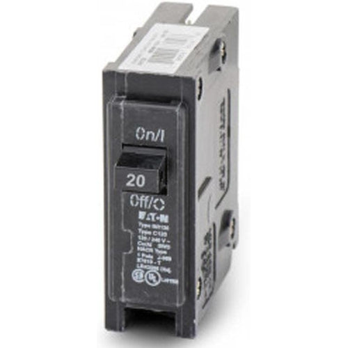 EATON CUTLER HAMMER 1 POLE 20A CIRCUIT BREAKER BR120-EATON-DEALER SOURCE-Default-Covalin Electrical Supply