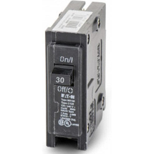 EATON CUTLER HAMMER 1 POLE 30A CIRCUIT BREAKER BR130-EATON-DEALER SOURCE-Default-Covalin Electrical Supply