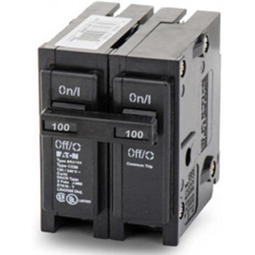 EATON CUTLER HAMMER 2 POLE 100A CIRCUIT BREAKER BR2100-EATON-DEALER SOURCE-Default-Covalin Electrical Supply