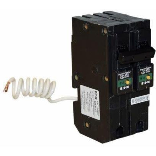EATON CUTLER HAMMER 2 POLE 15A Combination Arc Fault Circuit Breaker BRL215CAF-EATON-DEALER SOURCE-Default-Covalin Electrical Supply