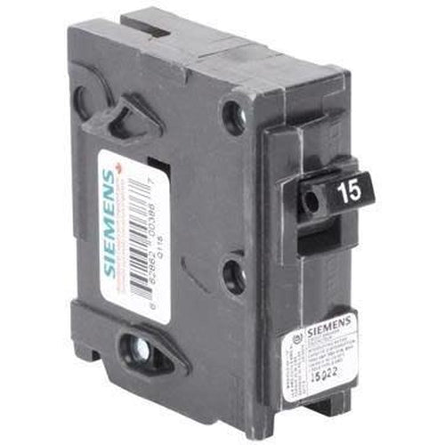 SIEMENS 1 POLE 15A PUSH-IN CIRCUIT BREAKER Q115-SIEMENS-DEALER SOURCE-Default-Covalin Electrical Supply