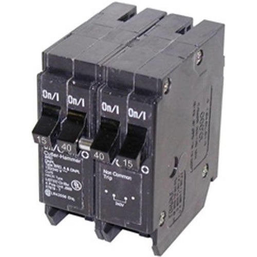 EATON CUTLER HAMMER 15A/40A QUAD CIRCUIT BREAKER DNLP154015-EATON-DEALER SOURCE-Default-Covalin Electrical Supply